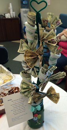 Baby Shower Money Tree Craft Ideas Pinterest Trees