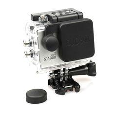 2e2e350e86a5 Sj4000 Lens Cap Cover Housing Case for Wifi SJ4000 Sport camear Camcorder