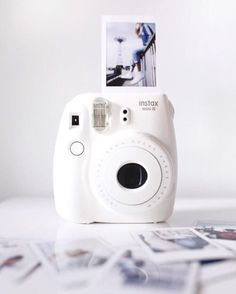 Instax Mini 8 Instant Camera - Instax Camera - ideas of Instax Camera. Trending Instax Camera for sales. - Buy this popular Instax Mini 8 Instant Camera sold by one of our favourite stores. White Pink Sky and Black colours are available . Check it out ! Polaroid Instax, Instax Mini Camera, Fujifilm Instax Mini 8, Fred Instagram, Disney Instagram, Polaroid Pictures, Polaroid Ideas, Photography Gear, Street Photography