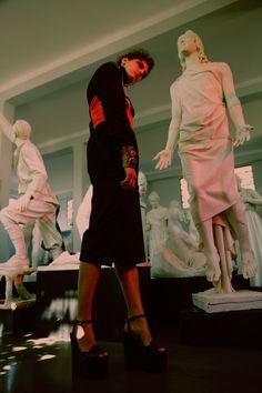 HEARTLESS Magazine: Mia Le Journal Model: Klarissza Fodor Monster mgmt Hair: Serena Congiu make up: Vanessa Icareg Production: CAOS Peplum Dress, High Neck Dress, Make Up, Journal, Magazine, Model, Hair, Dresses, Fashion