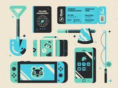 Animal Crossing New Horizons Fan Art - The Designest Animal Crossing Fan Art, Planner, Grafik Design, Island Life, Chibi, Coding, Video Games, Qr Codes, Sailor Venus