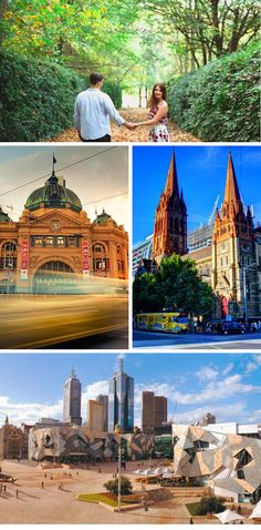 Lists of locations in Melbourne for pre-wedding or wedding photographing sites