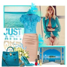 A fashion look from May 2013 featuring short-sleeve blouse, beige skirt and leather sole shoes. Browse and shop related looks. Ruffle Blouse, Ralph Lauren, Shoe Bag, Water, Skirts, Polyvore, Blue, Stuff To Buy, Outfits