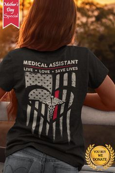 Discover Awesome Medical Assistant Women's T-Shirt, a custom product made just for you by Teespring. Medical Administrative Assistant, Medical Assistant, Vinyl Shirts, Tee Shirts, Lpn Nursing, Mothers Day Special, Clothing Logo, Tee Shirt Designs, Nurse Life