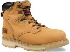 """Timberland PRO Men's Pitboss 6"""" Steel-Toe Boot:  fashion"""