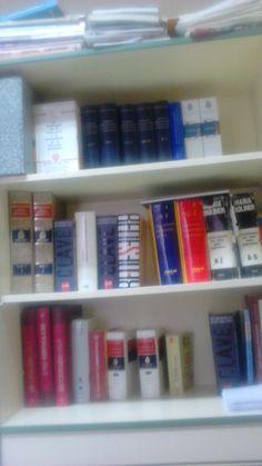 Hay poco tiempo de paz en nuestro trabajo, pero qué bien se está entre los libros del departamento. Sueño a menudo con ser bibliotecaria, pero reconozco que echaría de menos a mis alumnos. ¿Y si se pudiese ser bibliotecaria solo los viernes?