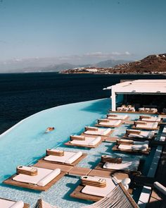 """Cavo Tagoo Mykonos on Instagram: """"Day 1 or Night 2 ? 📷 by @meirr"""" Cavo Tagoo Mykonos, Beautiful Hotels, Cool Pools, Pool Designs, Hotels And Resorts, Luxury Travel, All Over The World, Swimming Pools, Travel Inspiration"""