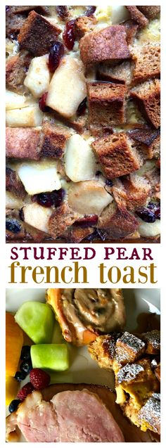 Stuffed Pear French Toast for Mother's Day Brunch