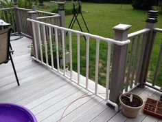 LifeHacker: Make a kiddie/doggie gate from pvc pipe (or garden fence?)  : )