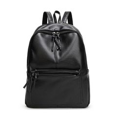 GUSURE New Fashion Backpack for Women Casual Backpack Leather School Bag  Simple Style Student Book Bag Shoulder Bag Backpacks 01bec2b2cdf42