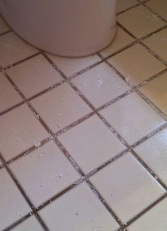 How To Deep Clean Stained Grout