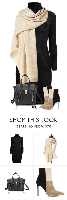 """""""Colorblock Boots"""" by daiscat ❤ liked on Polyvore featuring Rumour London, Tommy Hilfiger, 3.1 Phillip Lim, Gianvito Rossi and Trina Turk"""