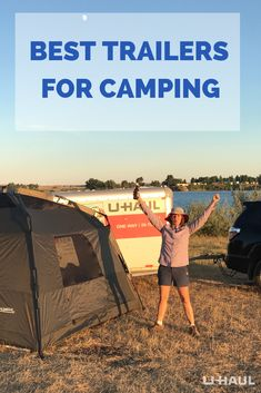 It's camping season! Start planning and reserve a trailer today. Camping Life, Camping Hacks, Best Trailers, Moving Tips, Campsite, Outdoor Travel, How To Plan, Fitness, Camping Tricks