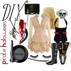 """DIY Pirate Halloween"" by bgriffin on Polyvore"