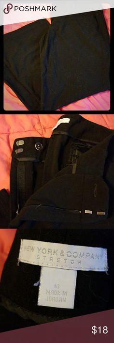 🛍CLEARANCE🛍NY&CO sz 18 black dress pants. Sz 18 NY & Company black dress pants. Never worn, no tags. Excellent condition New York & Company Pants