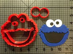 Cookie Monster Cookie Cutter Set 55 inches * Want additional info? Click on the image.