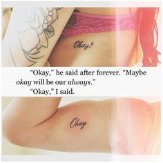 The Fault in Our Stars tattoos this is   legit the best/cutest/most amazing couple tattoo I've never seen! I'm in   love!