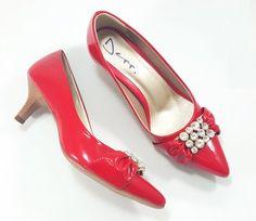 734547002 O Scarpin Depp Calçados Bico Fino é ideal para compor produções mais  elegantes: o modelo