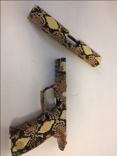 Diamond Back Snake Skin on M&P 45 with Cerakote High Gloss Clear