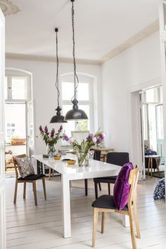 GabrieleH's home in Berlin, Germany. See inside more inspiring homes on MADE.COM/Unboxed.Bramante dining table