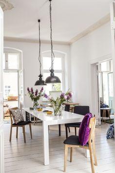 Tischlein streck dich. Minimalistisch und modern ist der Bramante Esstisch ein Design Statement. | Made Unboxed