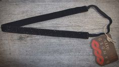 Skinny Black Sparkle  Glam up any daytime or red carpet ensemble with this black sparkle headband.  Price: $9.99