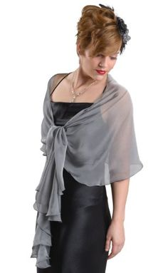 Silver Grey Silk Scarf Wrap Moro Bridal http://www.amazon.com/dp/B008XT81IS/ref=cm_sw_r_pi_dp_AoGeub1S6A4DA