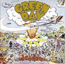 Green Day posters: Green Day poster featuring the cover art for Dookie. Dookie is the third Green Day studio album and was released in Official Green Day Dookie poster. Green Day Dookie, Iconic Album Covers, Music Album Covers, Music Albums, Rock Album Covers, Pop Albums, Music Pics, Music Videos, Poster Green Day