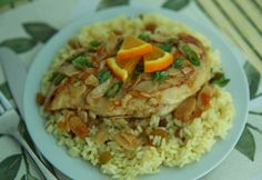 Chicken and Rice L'Orange:  10 ingredients, 30 minutes, Family Dinner is served!