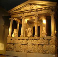 A part of the Mausoleum of Harlikarnassos (located in modern day Turkey), one of the seven wonders of the ancient world. British Museum
