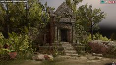 ArtStation - Cambodian Temple, Dulce Isis Segarra López
