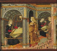 Thumbnail for version as of 7 January 2011 Medieval Life, Medieval Art, Renaissance, History Of Textile, Illumination Art, Work Pictures, Art Du Fil, Weaving Art, Illuminated Manuscript