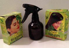 Les poudres indienne en masque c'est génial pour la pousse et le volume mais un spray aux poudres indiennes c'est très efficace aussi