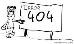 Behålla besökare - 7 tips för en bra error 404-sida - Starta Blogg