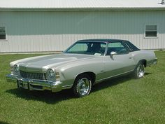 1974 monte carlo - my sister had one of these except the interior and hard top were maroon