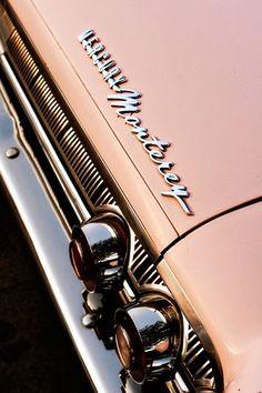Pink Mercury Monterey Classic Car Car Art