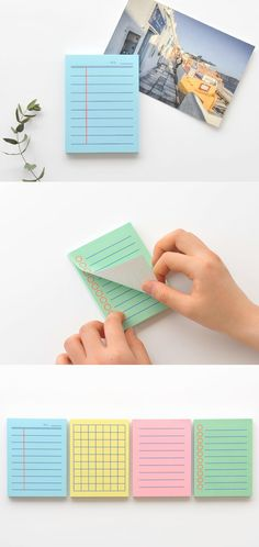 Colorful Mini Bold Notepad
