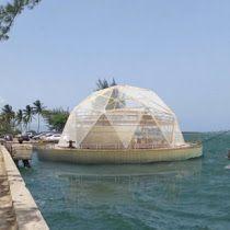 Estos domos de bambú flotantes podrían salvarte de una catás...
