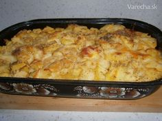 Francúzske zemiaky (fotorecept) Macaroni And Cheese, Potatoes, Ethnic Recipes, Food, Mac And Cheese, Potato, Essen, Meals, Yemek