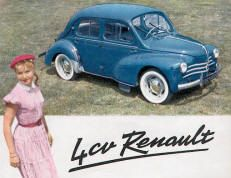 catalogue literature brochure RENAULT 4 CV Films Western, Automobile, Cute Cars, Garages, Car Car, Volvo, Cars And Motorcycles, Westerns, Mercedes Benz