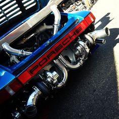 911 exposed engine