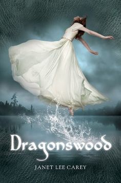 Dragonswood by Janet Lee Carey - one of MANY teen novels being published in 2012 that features a girl in a voluminous gown