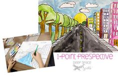 I'm so pleased to post this lesson. It is my first successful perspective art lesson and I owe it all to Natalie at Smart Class. Her drawing steps for one-point perspective is so perfect that I didn't change a thing. For anyone who hasn't introduced a lesson on perspective to your students, I encourage you …