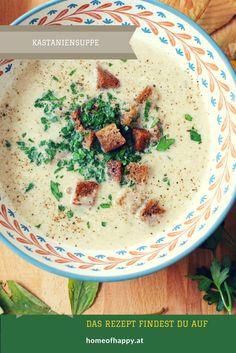 Das beste Maronisuppen Rezept  Recipe for Chestnut Soup