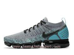 eca3c69d203c Running Nike Air VaporMax Flyknit 2.0 Dusty Cactus 942842 104 Chaussures  Officiel 2018 Pour HOmme Gris