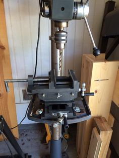 Northern Industrial Cross Slide Drill Press Vise — 6in.