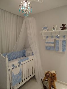 STUDIO NOBLE SAVAGE - Quarto de Bebê Provençal Arthur