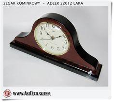 Zegar kwarcowy drewniany bufetowy Napoleon