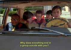 Malcolm In the Middle. Group suicide.