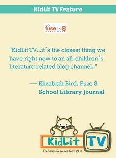 "Betsy Bird featured KidLid.TV on her blog Fuze 8 at the School Library Journal.  ""I've been watching the consistently interesting and intelligent fare over the last few months.  And now?  Now they're talking to me."" Be sure to watch her Storymakers Interview at KidLit.TV"
